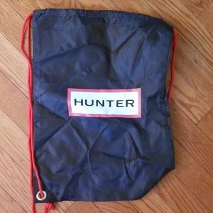 Cute hunter drawstring backpack